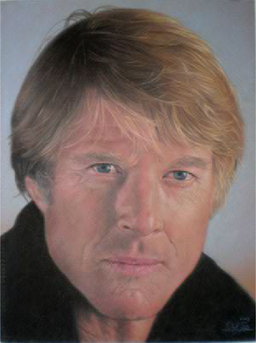 Robert_Redford,_pastel_portrait_by_Robert_Perez_Palou