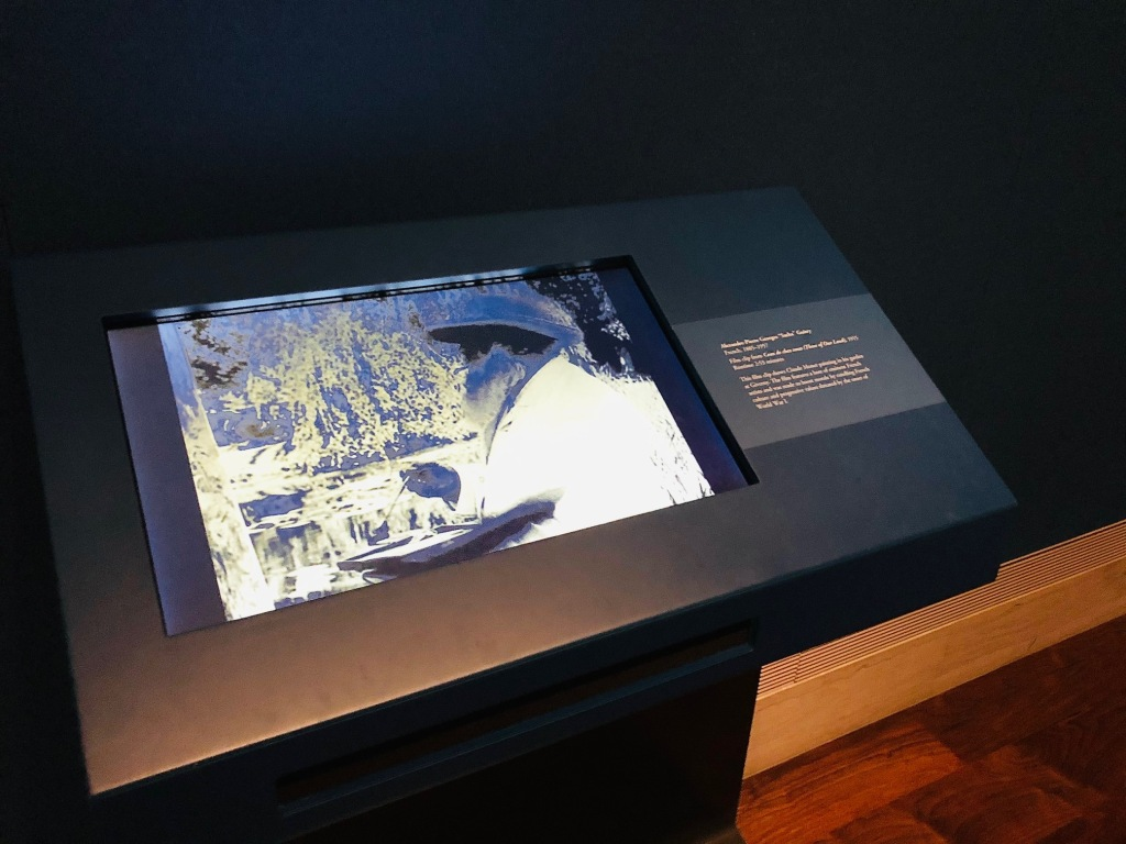 Monet Water Lilies: From Dawn to Dusk interactive video monitor