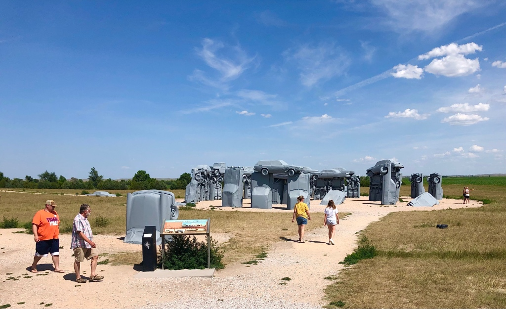 Carhenge from a distance